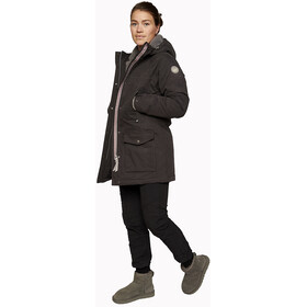 Varg Åre Parka Jacket Damen phantom black